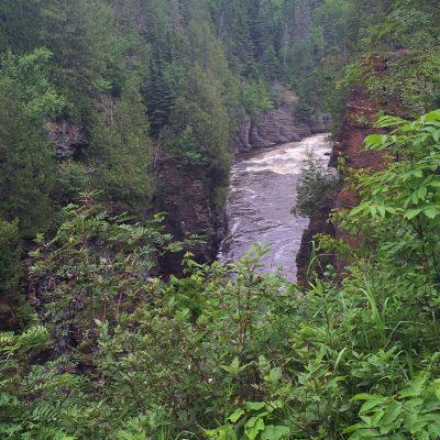 Exploring Minnesota's North Shore:  Gooseberry Falls, Lutsen, Grand Portage, High Falls